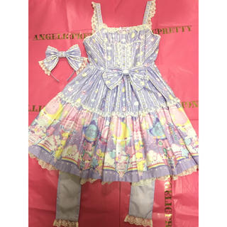 Angelic Pretty -  Angelic pretty Cotton Candy Shop 2点セット