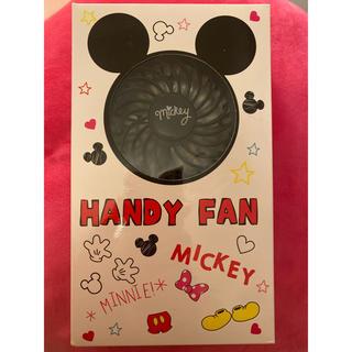 ディズニー(Disney)のハンディファン ディズニー 新品(扇風機)