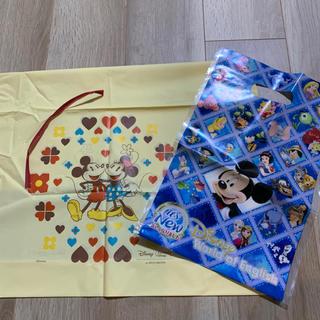 Disney - 未使用 ディズニー ミッキー ラッピング袋 プレゼント 袋 大きめ