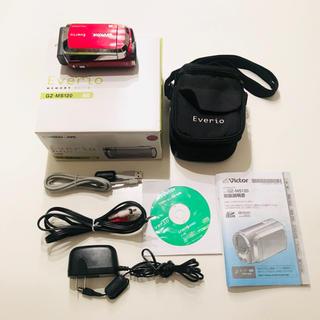 ケンウッド(KENWOOD)のKENWOODビクター Everio GZ-MS120 ビデオカメラ 動作確認済(ビデオカメラ)