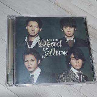 カトゥーン(KAT-TUN)のKAT-TUN「Dead or Alive」初回限定版2(アイドルグッズ)