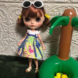 小さな袖のワンピース 43(人形)
