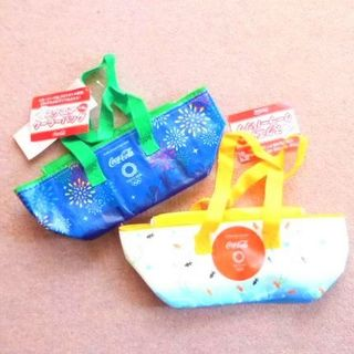 コカコーラ(コカ・コーラ)のコカ・コーラ五輪デザイン保冷バッグ(弁当用品)