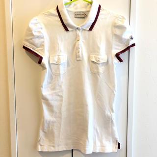 モンクレール(MONCLER)のモンクレール ポロシャツ 美品 Mサイズ 送料込み 夏服 Tシャツ トップス(ポロシャツ)
