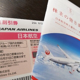 JAL(日本航空) - 《1枚》JAL 日本航空 株主優待券