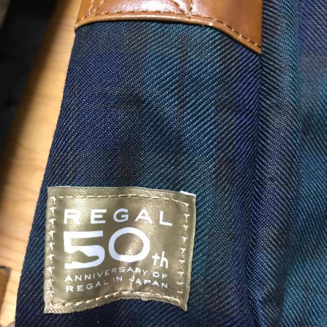 REGAL(リーガル)のリーガルショルダーバック 50th 記念バック 新品未使用タグ付き メンズのバッグ(ショルダーバッグ)の商品写真
