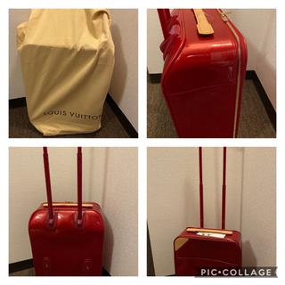 ルイヴィトン(LOUIS VUITTON)のLouis Vuitton モノグラム ヴェルニ ペガス45 未使用品 超美品 (トラベルバッグ/スーツケース)