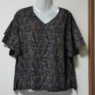 ヒロココシノ(HIROKO KOSHINO)のヒロココシノ 五分袖ブラウス(シャツ/ブラウス(半袖/袖なし))