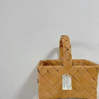 イデー(IDEE)の♯29 フランス製 アンティーク 編みバスケット期間限定販売(バスケット/かご)