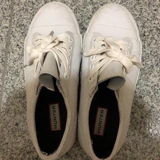 ハンター(HUNTER)のHunter ハンターレインシューズ ホワイト(レインブーツ/長靴)