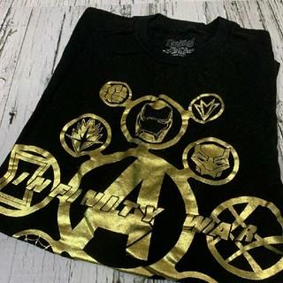 Tシャツ レディース 古着 アベンジャーズ アイアンマン キャプテンアメリカ(Tシャツ(半袖/袖なし))