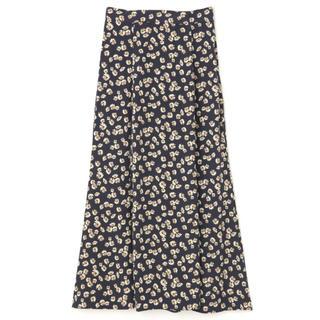 フリーズマート(FREE'S MART)のフリーズマート マーガレット柄マーメイドラインスカート(ロングスカート)