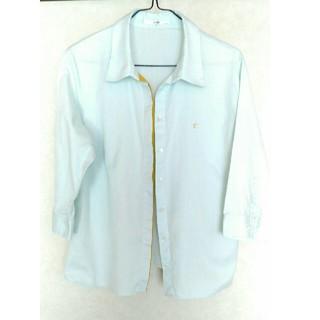 23区 - 23区 46 シャツ 薄い水色  七分袖