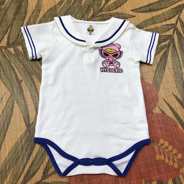 HYSTERIC MINI(ヒステリックミニ)のセーラーテディロンパース  キッズ/ベビー/マタニティのベビー服(~85cm)(ロンパース)の商品写真