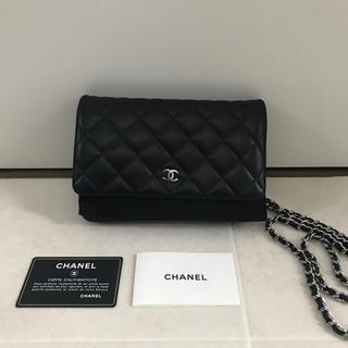 CHANEL - シャネル チェーンウォレット チェーンバッグ 財布