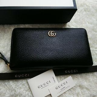 Gucci - 【限定価格】 GUCCI グッチ ラウンドファスナー長財布マ-モント