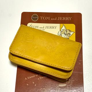 タリーズコーヒー(TULLY'S COFFEE)のタリーズ カードケース トムとジェリー(名刺入れ/定期入れ)