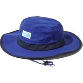 ザノースフェイス(THE NORTH FACE)の新品 ノースフェイス ホライズンハット 帽子 紫外線カット ブルーM(帽子)