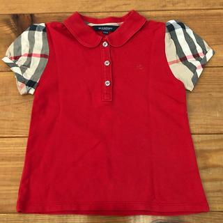 BURBERRY - 美品! 2回着用、バーバリー・ポロシャツ(120cm)