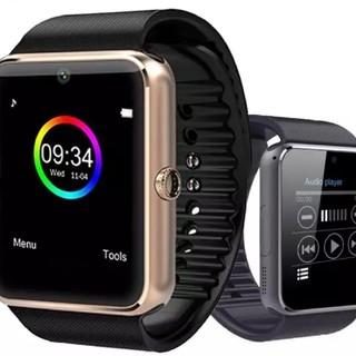 ゴールド スマートウォッチ Bluetooth 箱なし(腕時計(デジタル))