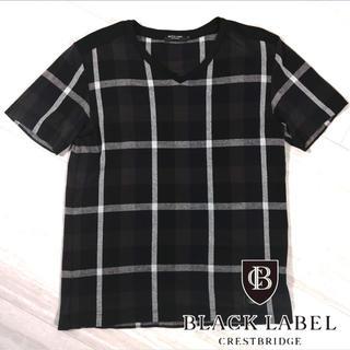 ブラックレーベルクレストブリッジ(BLACK LABEL CRESTBRIDGE)のブラックレーベル クレストブリッジ Vネック カットソー(Tシャツ/カットソー(半袖/袖なし))