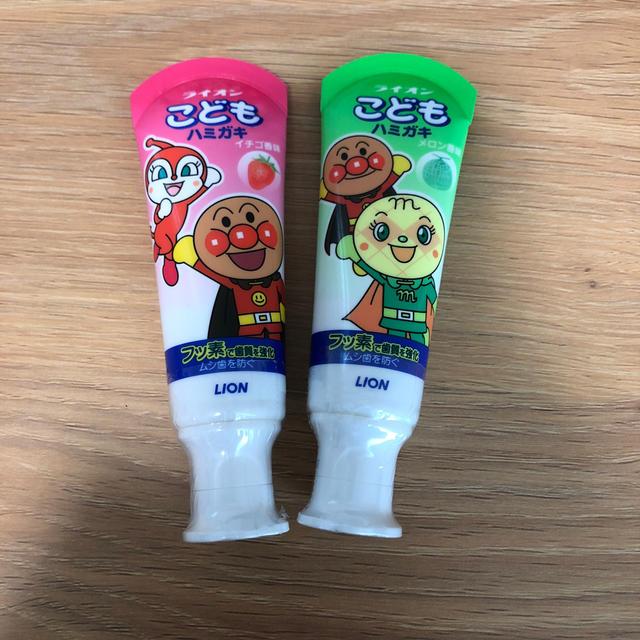 歯磨き粉 アンパンマン