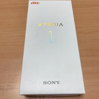 エクスペリア(Xperia)の【Hiiiir様専用】Xperia1 黒 SIMフリー(スマートフォン本体)