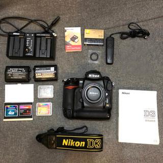 Nikon - [付属品多数]Nikon D3 フラッグシップ機モデル