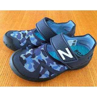 New Balance - New Balance サンダル (ブラックカモ×17cm)
