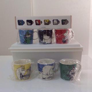 アラビア(ARABIA)の新品 アラビア ムーミンマグ 6個セット ミニマグ 6個セット(グラス/カップ)