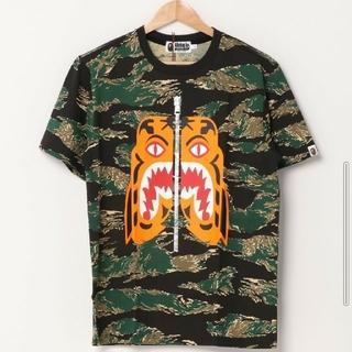 アベイシングエイプ(A BATHING APE)のA BATHING APE TIGER CAMO TIGER TEE Lサイズ(Tシャツ/カットソー(半袖/袖なし))