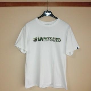 アベイシングエイプ(A BATHING APE)のA  BATHING APE®×UNDEFEATED   コラボ Tシャツ(Tシャツ/カットソー(半袖/袖なし))