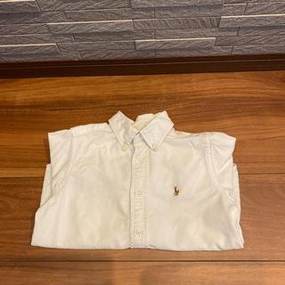 ラルフローレン(Ralph Lauren)のラルフローレン 白シャツ 長袖 110㎝(ブラウス)