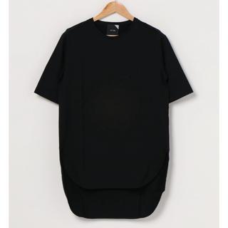DEUXIEME CLASSE - ATON スビンラウンドヘムTシャツ