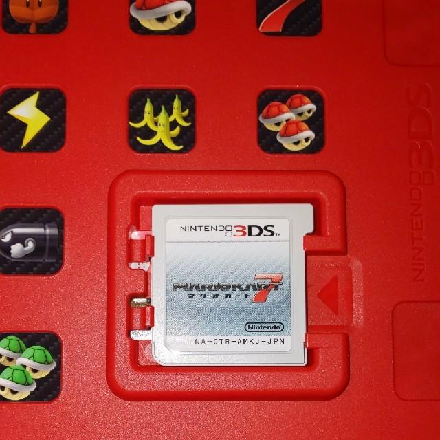 任天堂(ニンテンドウ)のマリオカート7 3DS エンタメ/ホビーのゲームソフト/ゲーム機本体(携帯用ゲームソフト)の商品写真