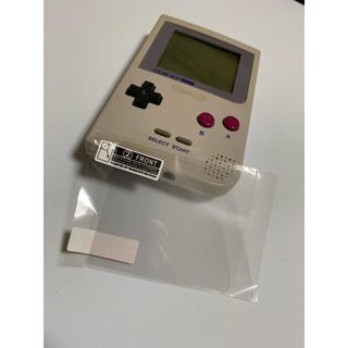 ゲームボーイ(ゲームボーイ)のゲームボーイポケット 専用保護フィルム(携帯用ゲーム機本体)