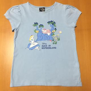 GU - GU ディズニー アリス Tシャツ 140cm
