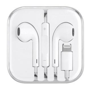 アイフォーン(iPhone)のiPhone イヤホン 新品 全機対応 イヤホン (白)(ヘッドフォン/イヤフォン)