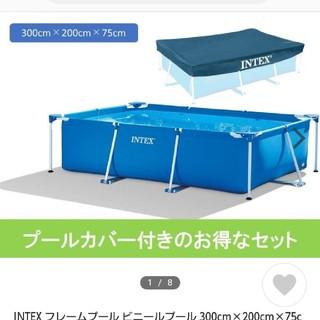 インデックス(INDEX)のINTEX(インテックス) プール レクタングラフレームプール コストコ(マリン/スイミング)