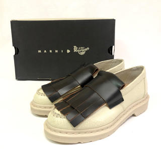 ドクターマーチン(Dr.Martens)の【新品】マーチン×マルニ Adrian ローファー ブーツ UK6 25cm(ローファー/革靴)