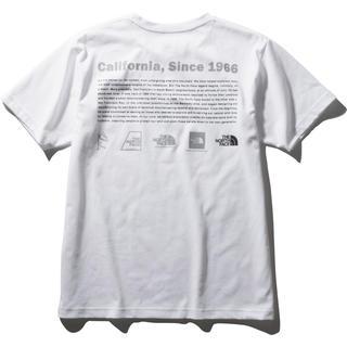 THE NORTH FACE - ノースフェイス ショートスリーブ ヒストリカル ロゴ Tシャツ ホワイト XL