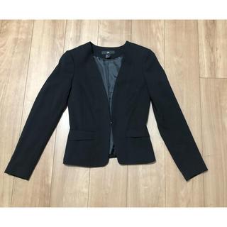 エイチアンドエム(H&M)のジャケット 黒(テーラードジャケット)