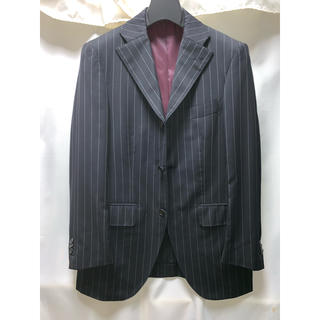 THE SUIT COMPANY - スーツカンパニー スーツ 160 8 ブラック カノニコ Canonico