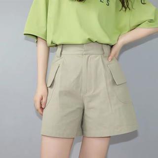 ディーホリック(dholic)の夏服レディース ワイド ショートパンツ デニムパンツ 韓国ファッション(ショートパンツ)