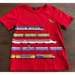 kladskap - クレードスコープ 恐竜 電車 Tシャツ 110cm