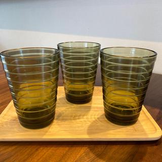 イッタラ(iittala)のイッタラ◎アイノアアルト◎グラス3個セット(グラス/カップ)
