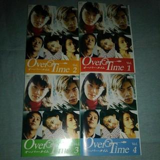 オーバー・タイム DVD  レンタル専用 全4巻セット(TVドラマ)