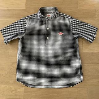 ダントン(DANTON)のDANTON ダントン 半袖ラウンドカラープルオーバーシャツ ギンガムチェック(シャツ)
