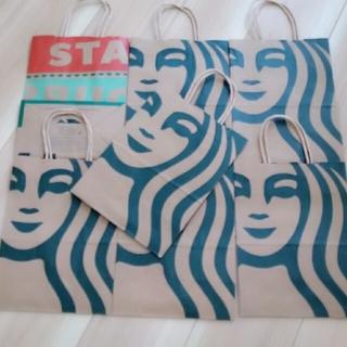 スターバックスコーヒー(Starbucks Coffee)のスターバックス スタバ 紙袋 22枚セット😄✨(その他)
