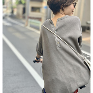L'Appartement DEUXIEME CLASSE - 新品未使用 AMERICANA/アメリカーナ S/S Thermal カーキ